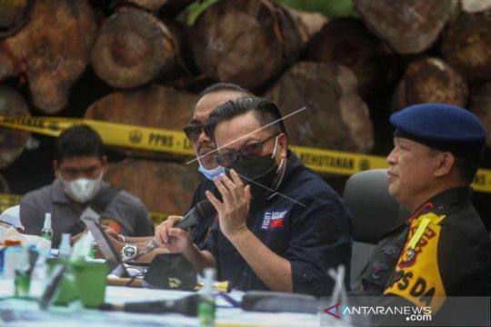 Amankan Kayu Ilegal Dari SM Rimbang Baling