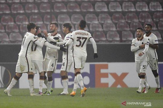 Liga Europa - Roma pastikan tiket 32 besar usai kalahkan CFR Cluj 2-0