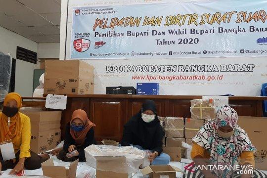 KPU Bangka Barat siapkan 139.978 surat suara pelaksanaan Pilkada 2020