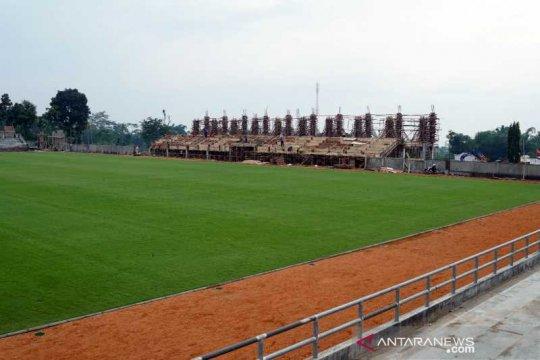 Pembangunan Stadion  Kebo Giro Boyolali tahap penyelesaian