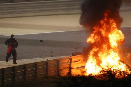 Petugas medis F1 klaim betapa tipis kesempatan selamatkan Grosjean