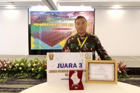 Kapendam XVII/Cenderawasih juara III lomba tulis esai penerangan TNI AD