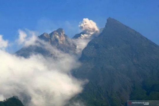 Merapi alami 46 kali gempa guguran