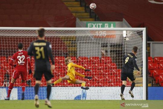 Curtis Jones pastikan Liverpool ke babak 16 besar