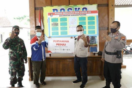 Pertamina Cilacap salurkan bantuan untuk korban tanah longsor