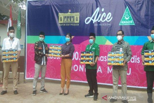 DPRD Batang apresiasi Anshor-Aice bagikan masker