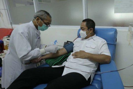 Hendi donorkan plasma darah untuk obati COVID
