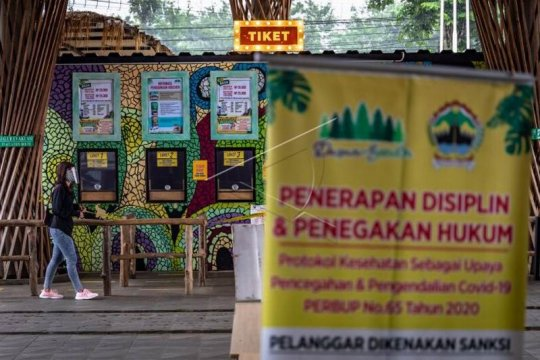 Penutupan wisata Dusun Semilir