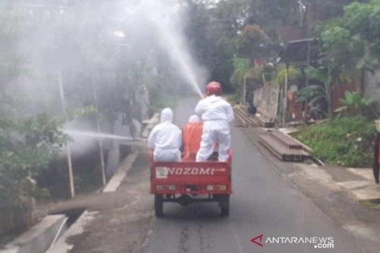 Satgas Desa kembali giatkan penyemprotan disinfektan di Temanggung