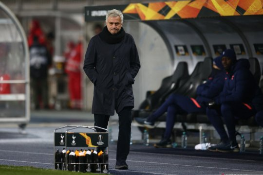 Mourinho: Tottenham bermain kurang termotivasi di Liga Europa