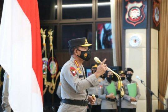 Kapolri naikkan pangkat 46 perwira tinggi Polri