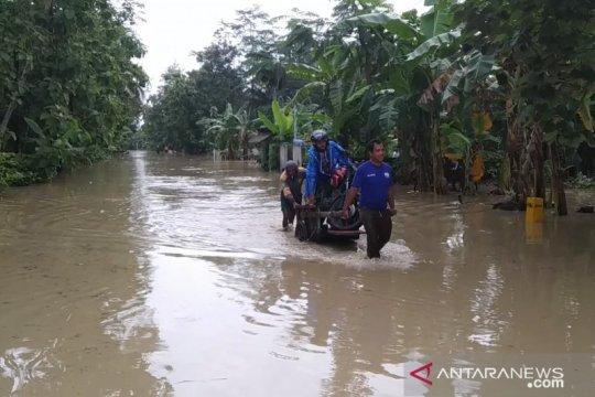 Dinas Pertanian Banyumas cek kerusakan sawah karena banjir
