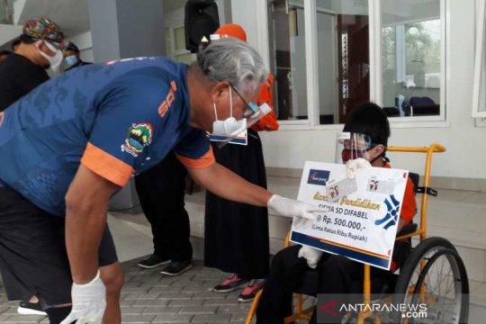 Bank Jateng berikan bantuan siswa  disabilitas di Temanggung
