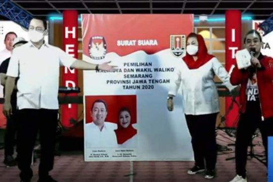 26.000 warga Semarang saksikan kampanye virtual Hendi-Ita