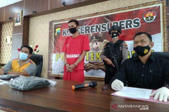 Pengantin baru warga Parakan meringkuk di Polres Temanggung karena simpan sabu-sabu
