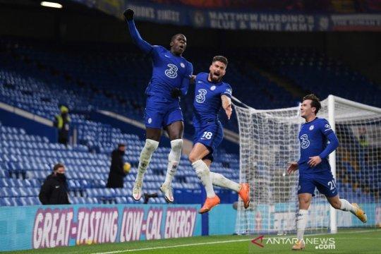 Chelsea merebut puncak klasemen sementara Liga Inggris