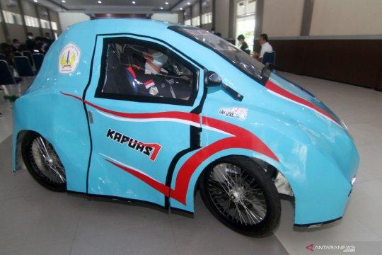 Mobil listrik karya mahasiswa Pontianak bisa jelajah hingga 35 kilometer