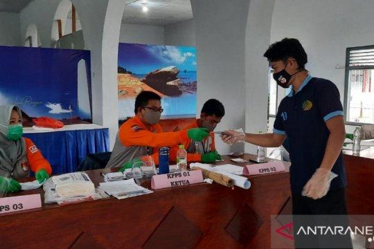 119 warga binaan Rutan Mentok mencoblos di TPS khusus