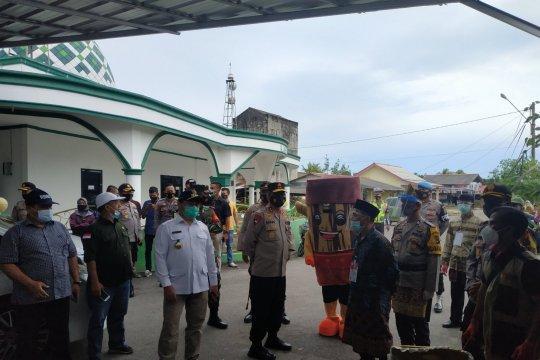 Gubernur Bangka Belitung pantau pilkada serentak di Bangka Tengah