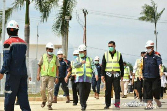 Gubernur Babel pastikan pembangunan Rumah Sakit Infeksi dan Karantina COVID-19 segera rampung