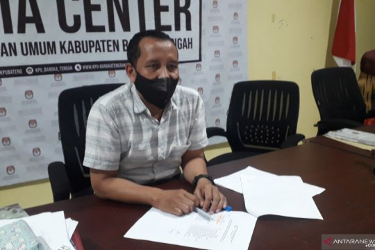 KPU: Partisipasi pemilih Pilkada Bangka Tengah capai 76,71 persen