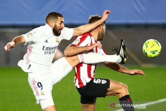 Real Madrid kalahkan Athletic Bilbao dengan skor 3-1