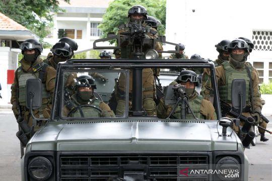 Aksi prajurit Brigif Infanteri Raider 9 bebaskan sandera saat simulasi penyelamatan
