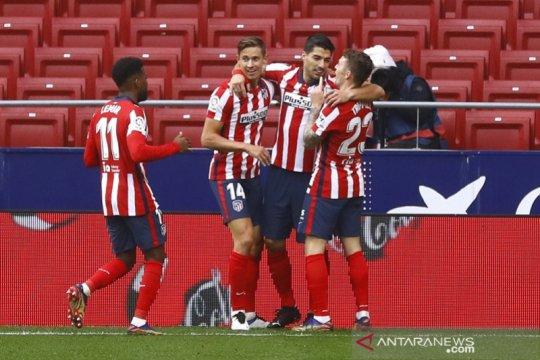 Atletico Madrid duduk di puncak klasemen sementara