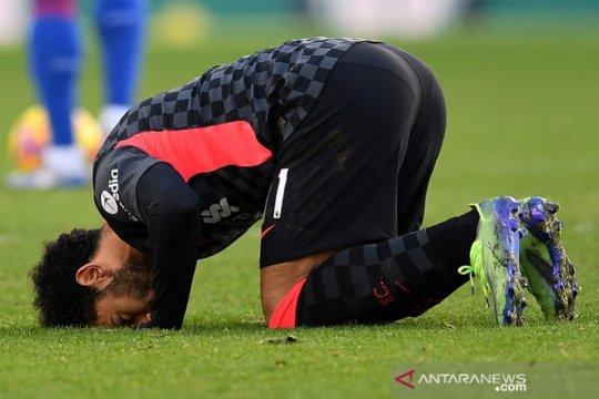 Mohamed Salah memimpin daftar top skor sementara Liga Inggris