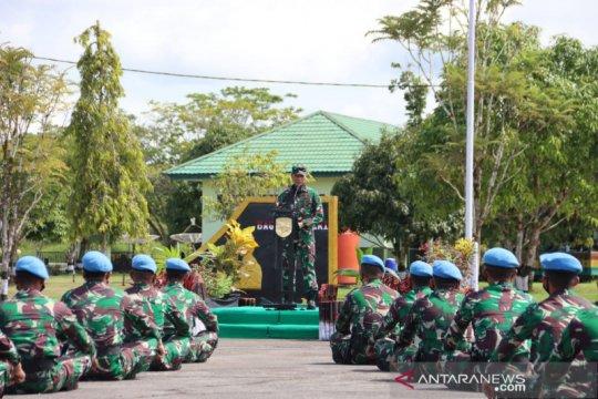 488 personil Satgas BGC TNI diberangkatkan ke Kongo