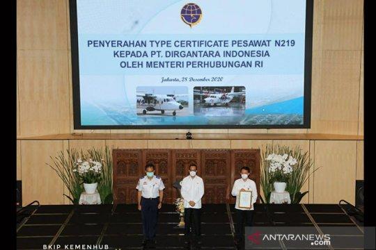 Pesawat N219 raih Type Certificate laik terbang