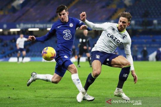 Chelsea ditahan imbang Aston Villa dengan skor 1-1