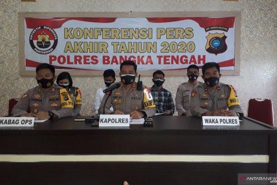 Polres Bangka Tengah minta warga tidak berkerumun rayakan Tahun Baru
