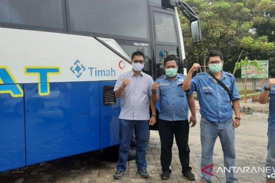 PT Timah salurkan bantuan 600 paket sembako untuk nelayan
