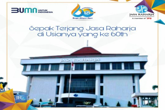 60 tahun, Jasa Raharja Bangga Melayani Negeri