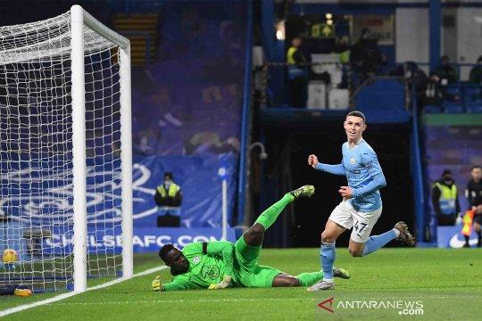 Klasemen sementara Liga Inggris ketika Manchester City capai posisi tertinggi