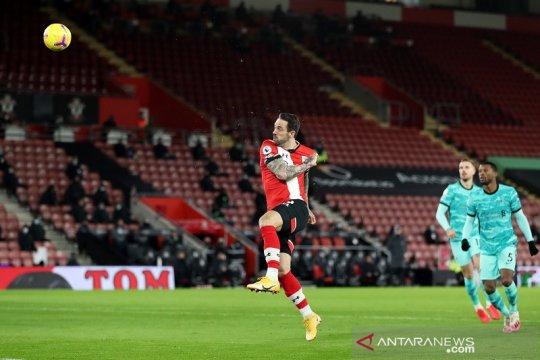 Paceklik gol Liverpool berlanjut setelah takluk 0-1 di markas Southampton