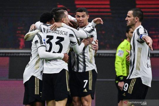 Juventus memaksa AC Milan menderita kekalahan perdana