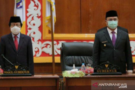 Gubernur dan Wagub hadiri pelantikan PAW anggota DPRD Babel