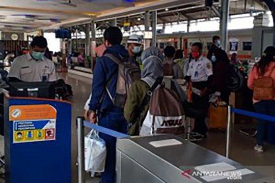 Okupansi penumpang KA Daop 6 normal selama PPKM