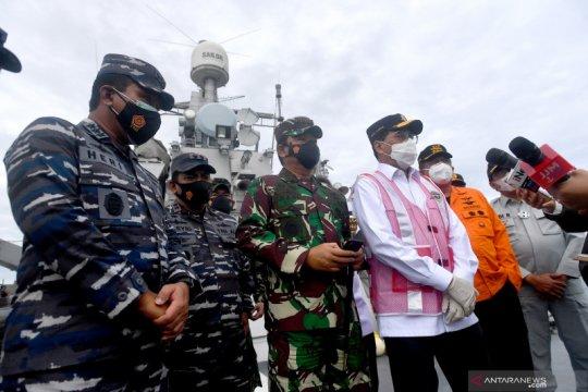 Panglima TNI: Tim SAR akan lanjutkan cari rekaman CVR kotak hitam Sriwijaya Air