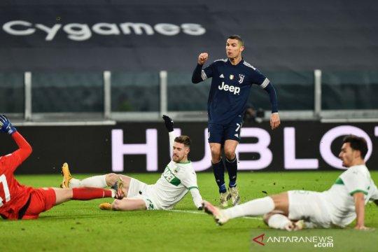 Juventus raih kemenangan 3-1 atas tamunya Sassuolo