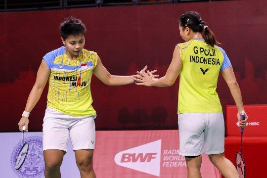 Taklukkan unggulan ketiga, Greysia/Apriyani rebut tiket final Thailand Open
