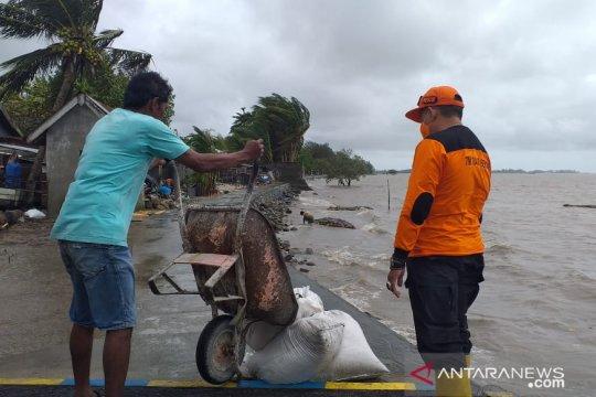 BPBD Belitung bangun talud penahanan gelombang antisipasi rob susulan