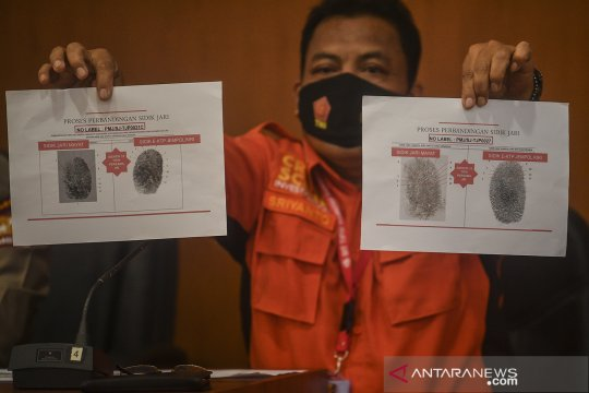 Tim DVI Polri terima 162 kantong jenazah dan 74 kantong properti SJ-182