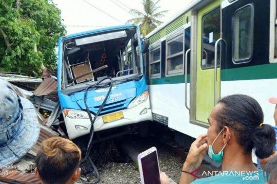 Kecelakaan KA Di Padang