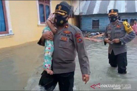 32 rumah di Bangka Belitung hancur diterjang banjir rob ekstrim