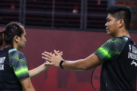 Praveen/Melati melaju ke final Thailand Open 2021