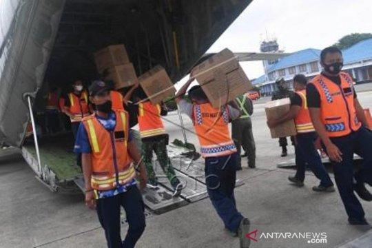 Pengiriman Bantuan Logistik Untuk Gempa