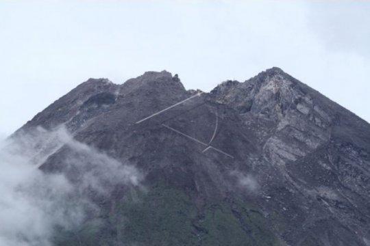 Volume kubah lava Gunung Merapi capai 46.766 meter kubik